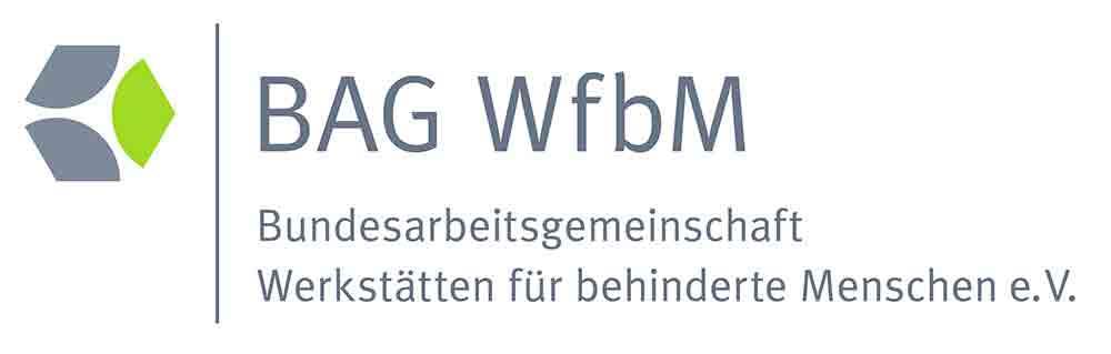 Logo der Bundesarbeitsgemeinschaft Werkstätten für behinderte Menschen